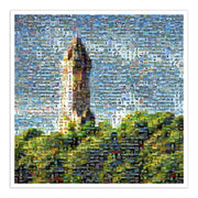 Wallace monument art