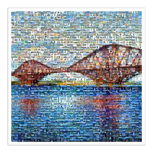 Forth bridge art