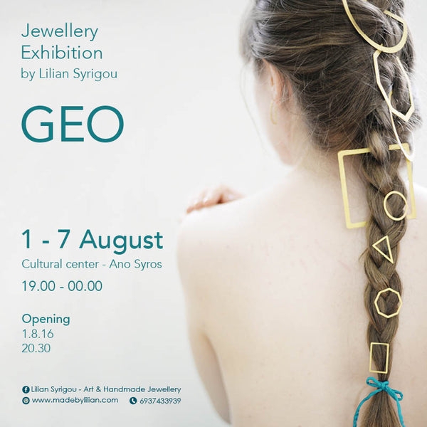 GEO - Jewellery Exhibition in Syros, Greece