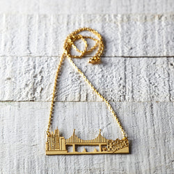 San Francisco Skyline chain necklace
