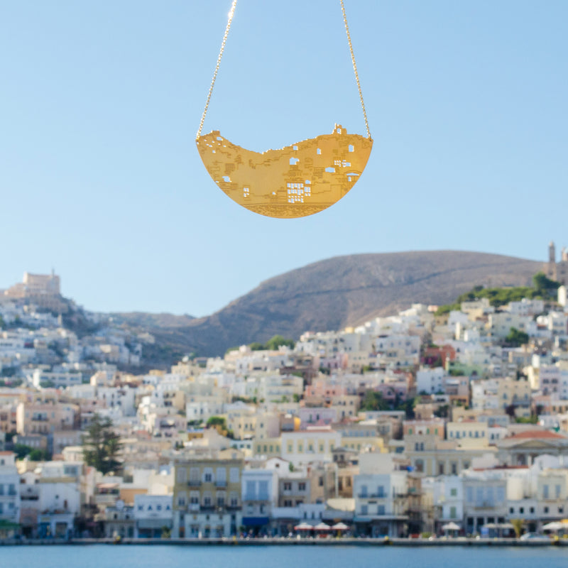 Syros Island Chain Necklace