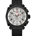 Quartz Chronograph Silver Black