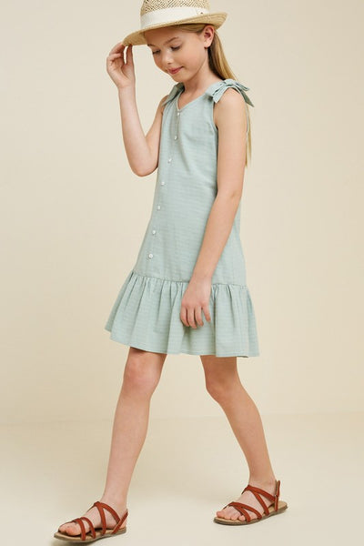 Button-Down Swing Dress