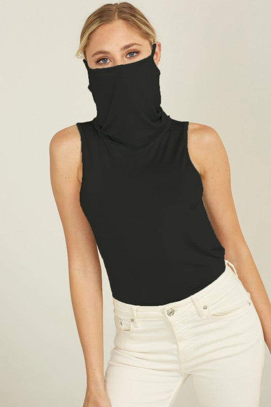 Tank Top with Built in Mask (Curvy)