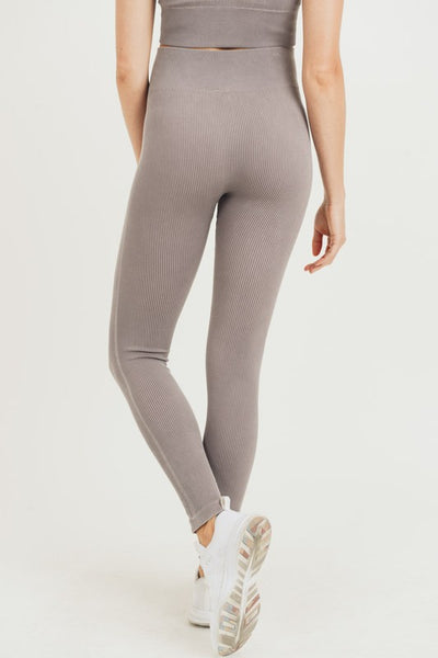 Seamless Leggings - Mocha