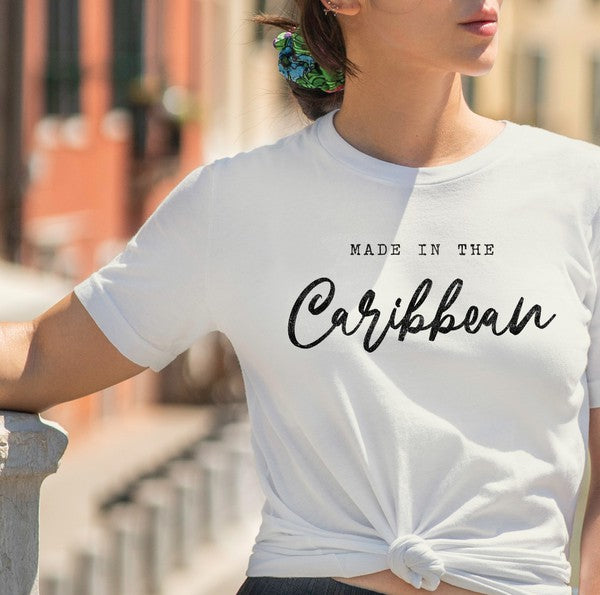 Made In The Caribbean Tee -  White
