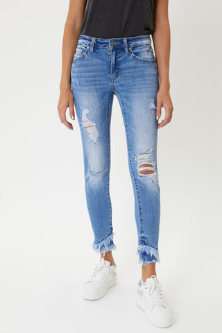 Nala Mid Rise Ankle Skinny
