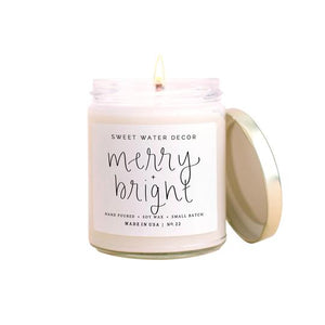 Merry and Bright Soy Candle