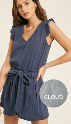 Casual Gauze Set - Cloud