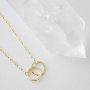 18k Gold Dipped Mini Harmony Necklace