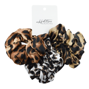 Leopard Scrunchie Set