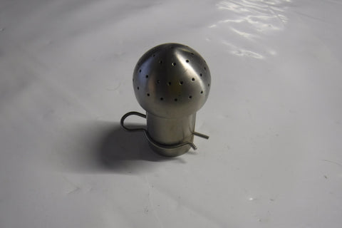 "40mm x 1"" TUBE SPRAY BALL17C BOTTOM PAT SPRAY BALL"