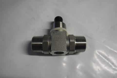 "1"" FLOW ELEMENT, 1"" MNPT, 5-50 GPM"