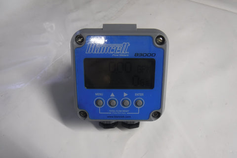 Flow Meter Display, Loop Powered, 4-20mA or pulse