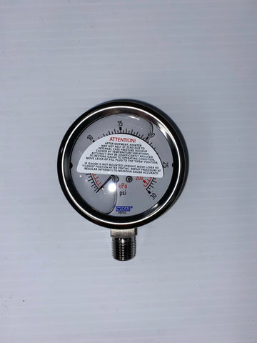 "1.5"" TC Sanitary Pressure Gauge (Bottom Mount)"