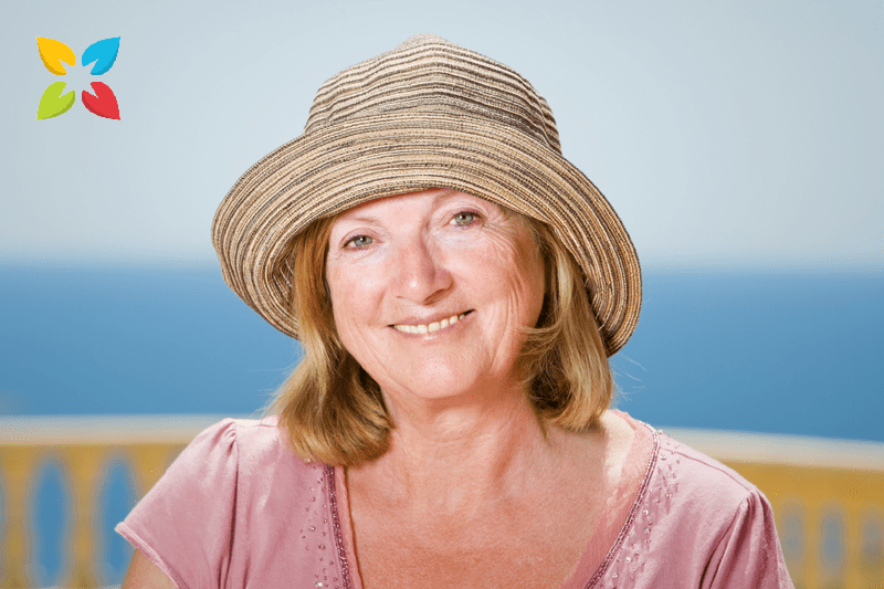 Woman Smiling at The Beach Anti Inflammatory Diet Bone Loss