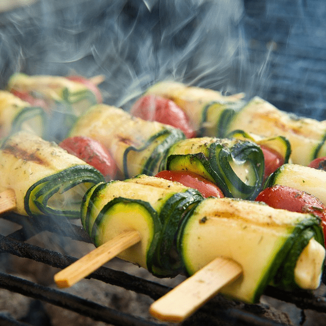 Grilling Veggies Vegetables Healthy BBQ