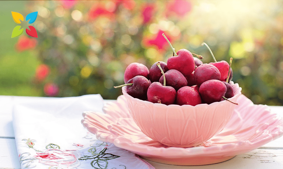 Cherries Bowl Fruit