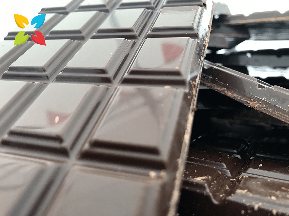 Dark Chocolate Bar Squares Candy