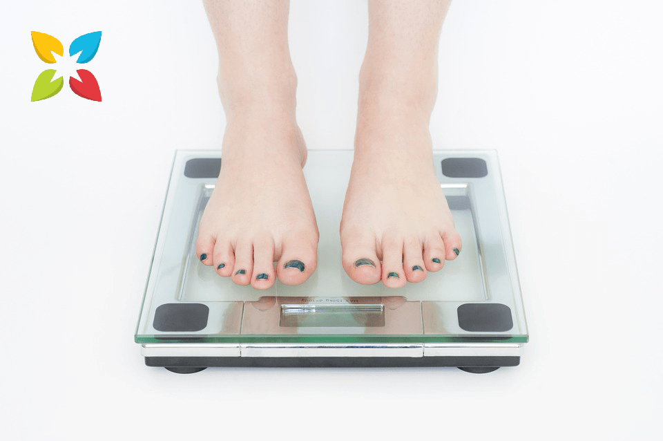 Scale Weigh Glass Person