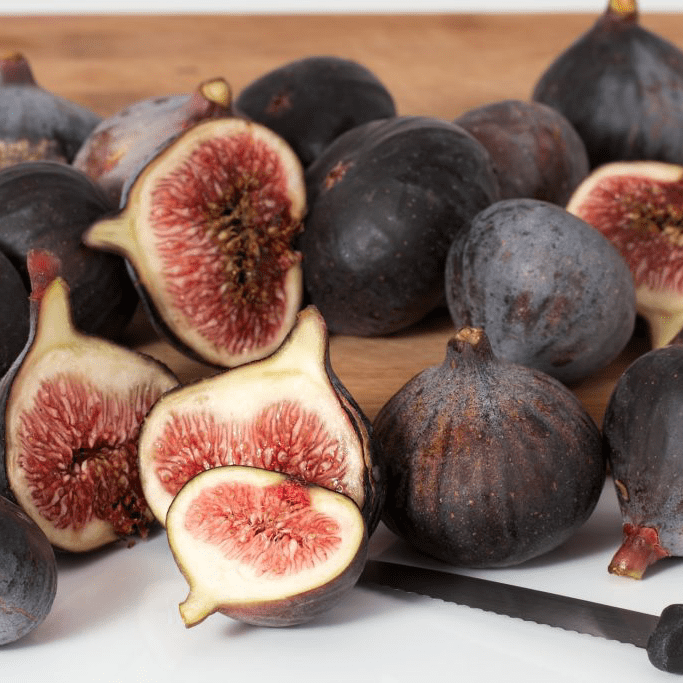 Fresh Fruit Figs Cut