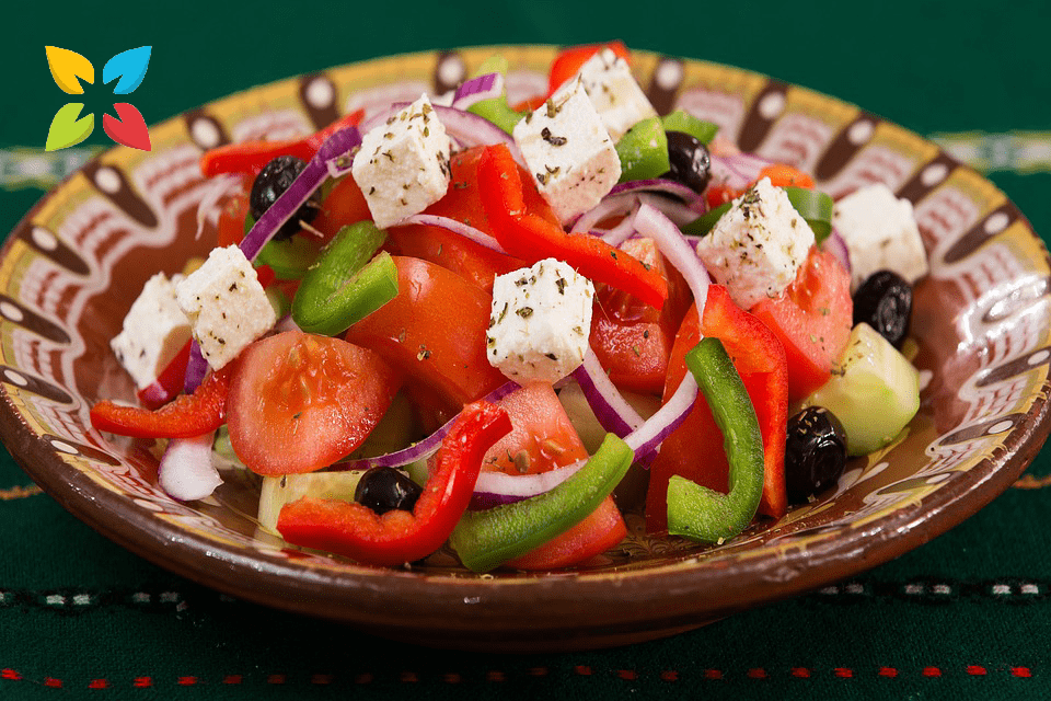 Mediterranean Salad Greek Healthy