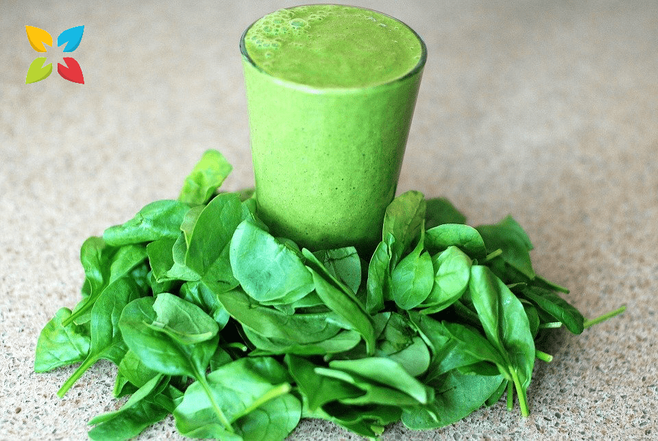 Spinach Greens Leafy Juice Smoothie Vitamin K D Blood Pressure