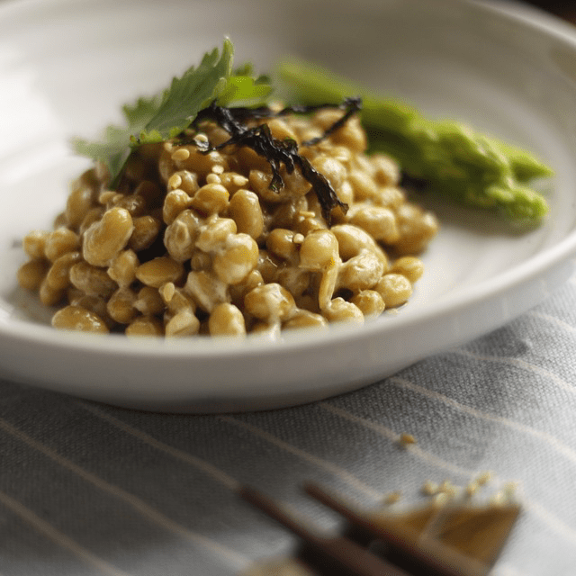 Natto Japanese Bean Fermented Healthy