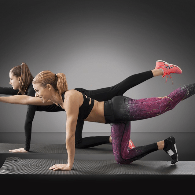 Women Fit Core Yoga Lean
