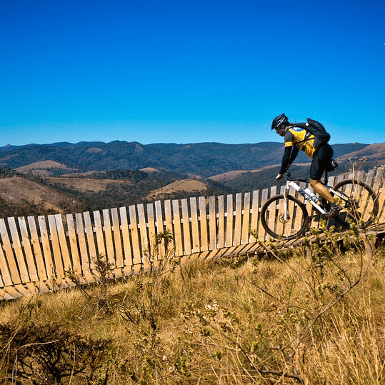 Man Mountain Bike Cycling