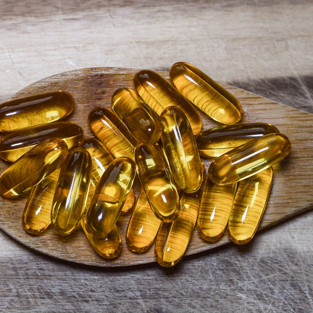 Fish Oil Pills Supplement Omega 3 Omega-3