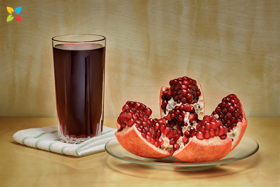 Pomegranate Juice Flavanoid Improve Blood Pressure