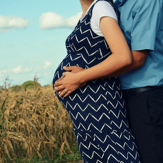 Couple Married Pregnant