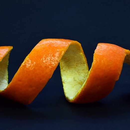 Cut Orange Mandarin Citrus Peel