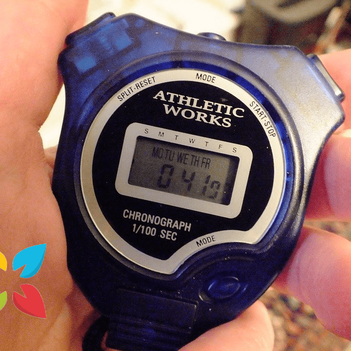 Stopwatch Athletic Interval Training