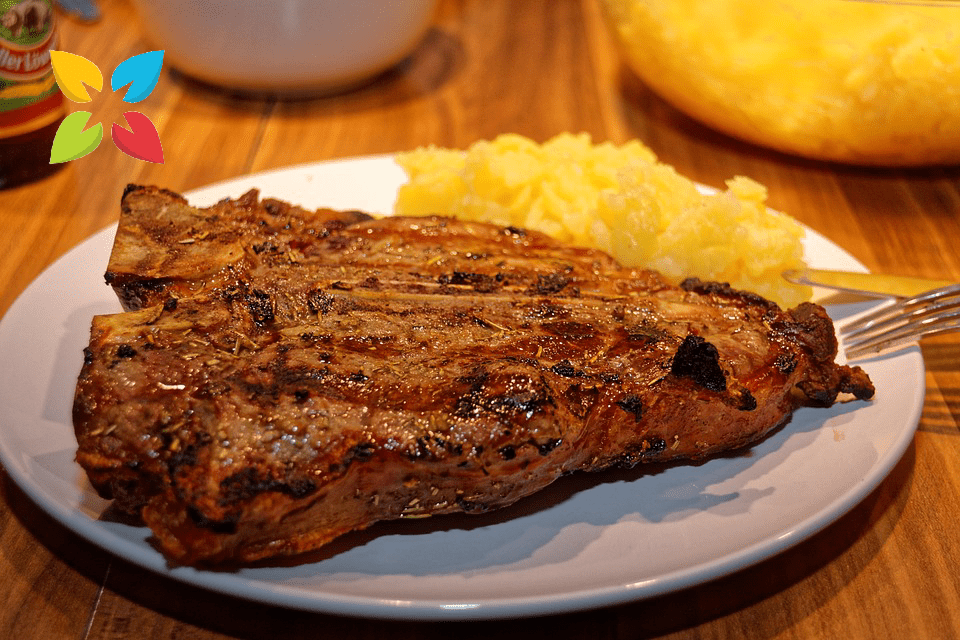 Large Steak Meat Meal