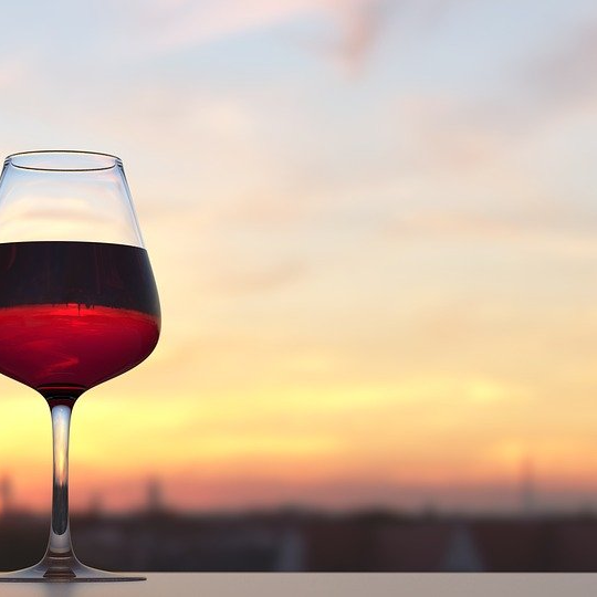 Glass of Red Wine Source of Resveratrol