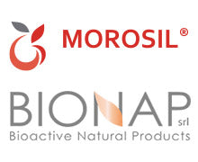 Morosil and BioNap Logos