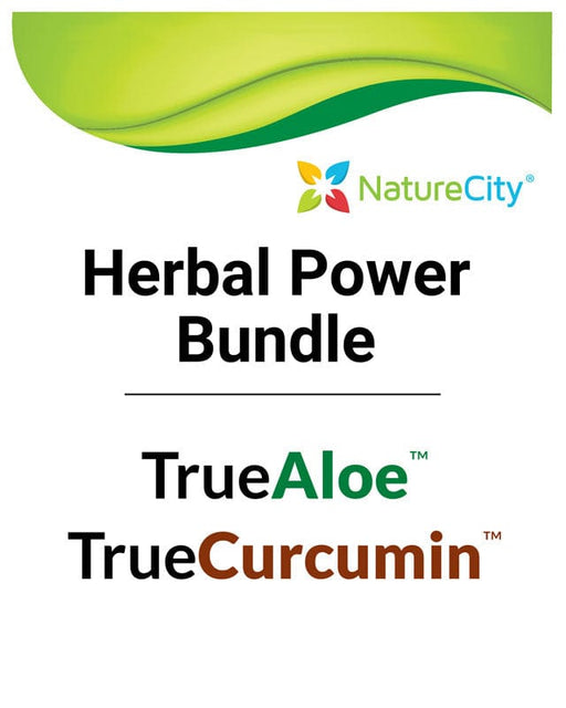 Herbal Power Package: TrueAloe & TrueCurcumin