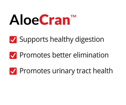 AloeCran Healthy Digestion Better Elimination Urinary Tract Health