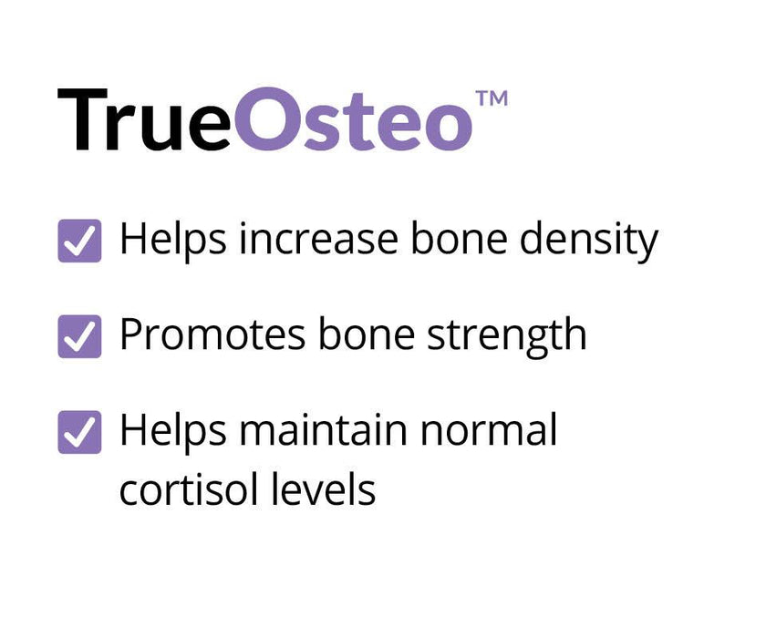 TrueOsteo - Help Increase Bone Density bone strength