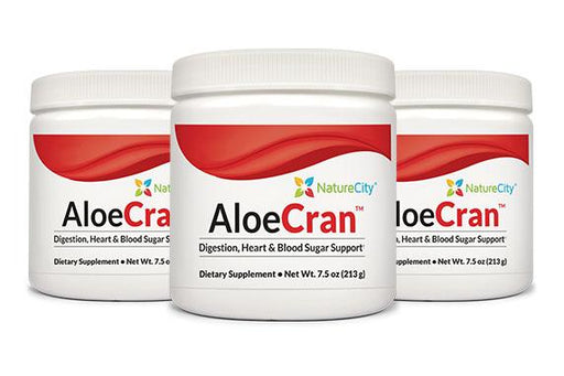 AloeCran - Aloe Vera & Cranberry Drink Mix Three pack