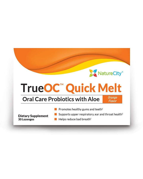 TrueOC Quick Melt - Oral Care Probiotics with Aloe