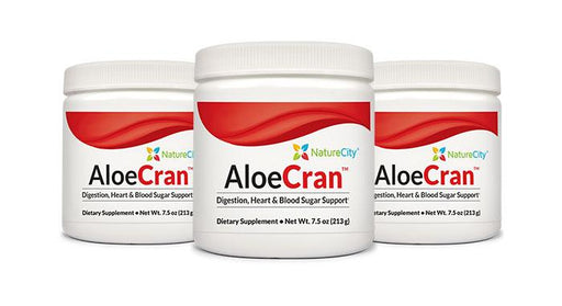 AloeCran - three pack