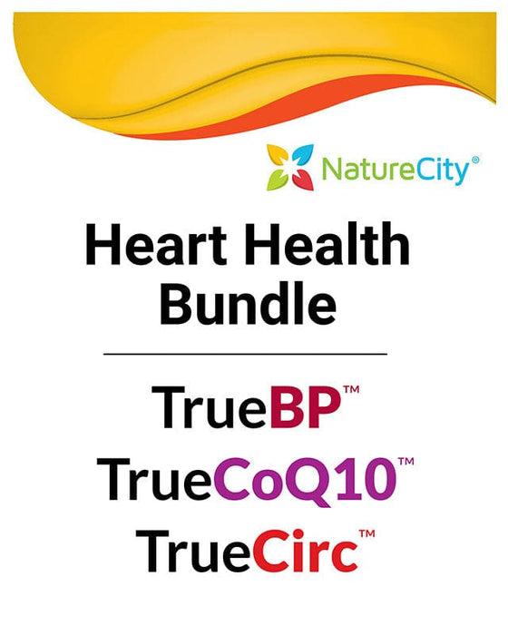Heart Health Package: TrueBP, TrueCoQ10 & TrueCirc