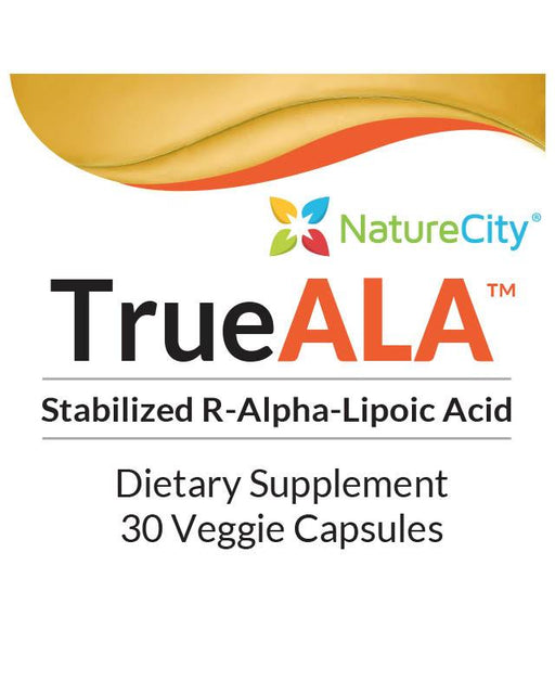 TrueALA - Label Stabilized R-Alpha-Lipoic Acid