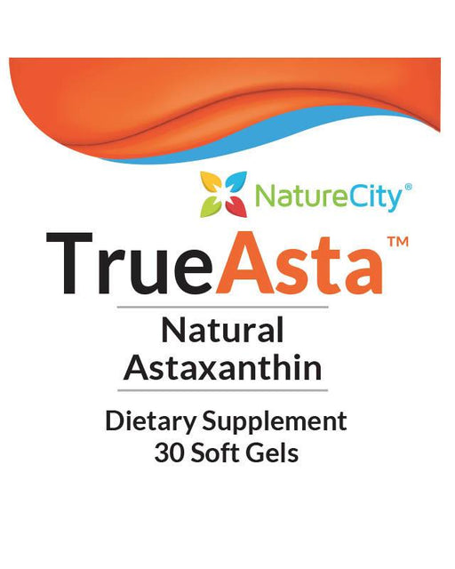 TrueAsta - Label Natural Astaxanthin