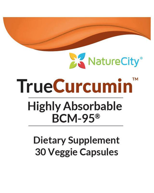 TrueCurcumin - Label Highly Absorbable Turmeric Oil and Curcumin Extract