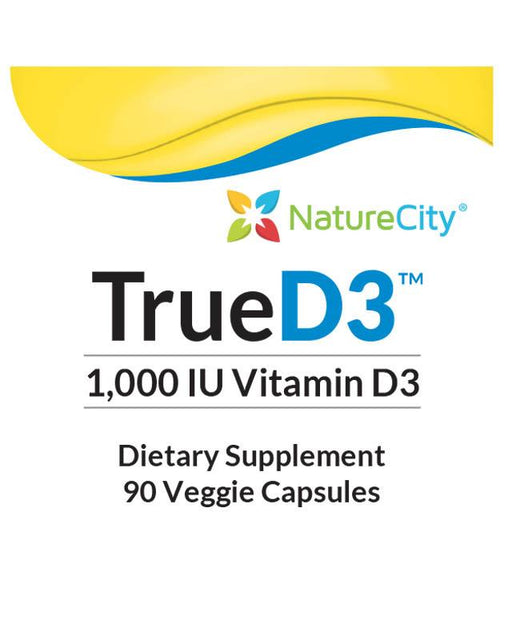 TrueD3 - Optimized Vitamin D3 1000 IU Vitamin D3