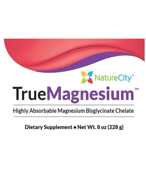 TrueMagnesium - Highly Absorbable magnesium Bisglycinate Chelate